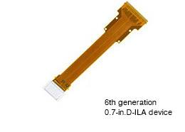 6th generation 0.7-in. D-ILA device